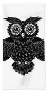 Sophisticated Owls 1 Of 4 Bath Towel