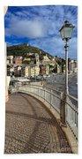 Sori - Sea And Promenade Bath Towel