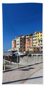 Sori Waterfront. Italy Bath Towel
