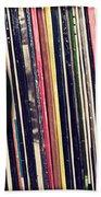 Sound Of Vinyl Bath Towel