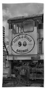 South Buffalo Railway  7d06191b Bath Towel