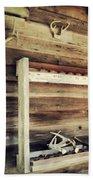 South Carolina Hunting Cabin Bath Towel