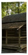 South Carolina Log Cabin Bath Towel