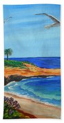South La Jolla Bath Towel