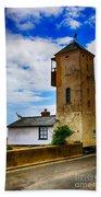 South Lookout Tower Aldeburgh Beach Bath Towel
