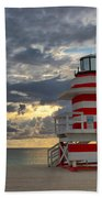 South Pointe Park Lighthouse Bath Towel