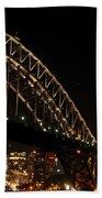 South Sydney Harbour Bridge Bath Towel