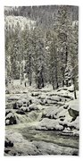 South Yuba River Bath Towel
