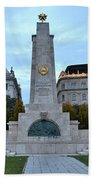 Soviet Red Army Monument Budapest Hungary Bath Towel