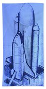 Space Shuttle Bath Towel