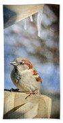 Sparrow 5   Bath Towel