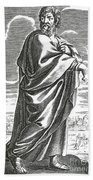 Speusippus, Ancient Greek Philosopher Bath Towel