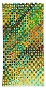 Spex Future Abstract Art Bath Towel