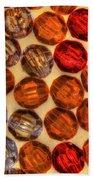 Spheres Of Beads Bath Towel