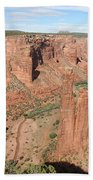 Spider Rock  Canyon De Chelly Bath Towel