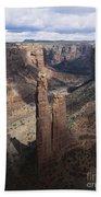 Spider Rock, Canyon De Chelly Bath Towel
