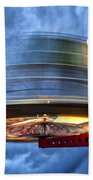 Spinning Up The Universe Bath Towel