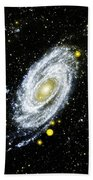Spiral Galaxy Bath Towel