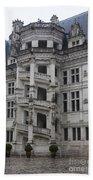 Spiral Staircase Chateau Blois  Bath Towel