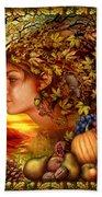 Spirit Of Autumn Bath Towel