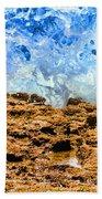 Splash In La Jolla By Diana Sainz Hand Towel