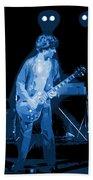 Spokane Blues In 1977 Bath Towel