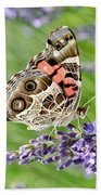 Spotted Butterfly Bath Towel