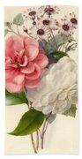 Spray Of Three Flowers Bath Towel