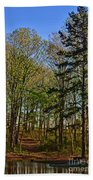 Spring At The Pond Series IIi Bath Towel