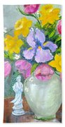 Spring Blooms  Bath Towel