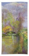Spring Bridge Bath Towel