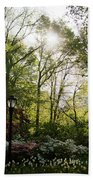 Spring Day In The Park Bath Towel