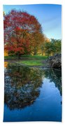 Spring Grove In The Fall Hand Towel