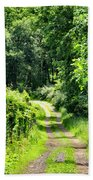 Spring Hikes Hand Towel