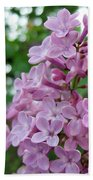 Spring Lilac Bath Towel