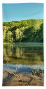 Spring Mill Lake Bath Towel
