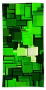 Spring Modern Abstract Xiv Bath Towel