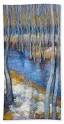 Spring River Thaw Bath Towel
