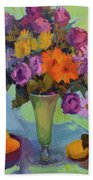 Spring Still Life Bath Towel