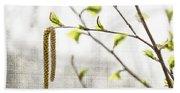 Spring Tree Branch Hand Towel