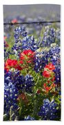 Spring Wildflowers Bath Towel