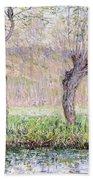 Spring Willows Bath Towel