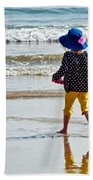 Springtime At The Seaside Hand Towel