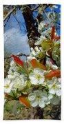 Springtime Pear Blossoms - Hello Spring Bath Towel