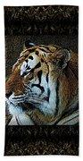 Sq Tiger Profile 6k X 6k Bboo Matt Bath Towel