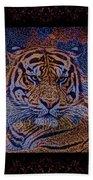 Sq Tiger Sat 6k X 6k Cranberry Wd2 Bath Towel