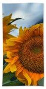 Squamish Sunflowers Bath Towel