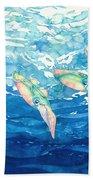 Squid Ballet Bath Towel