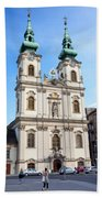 St Anne's Church In Budapest Hand Towel