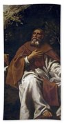 St Anthony Abbot Hand Towel